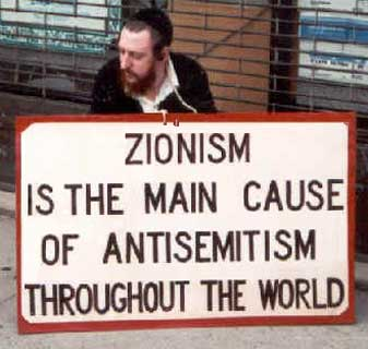 Sionism is the main cause of antisemitism in the world